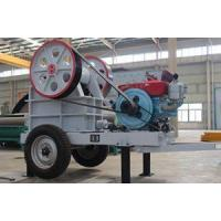 Buy cheap Small Mobile Diesel Engine Jaw Crusher from wholesalers