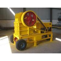 Buy cheap 5-20 tph Diesel Engine Small Jaw Crusher from wholesalers