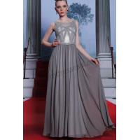 Cheap Grey jewel sleeveless beaded Ball gown ready wear SY031 for sale