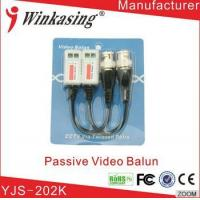 Cheap Low price for Passive Single channel video balun for CCTV security project YJS-202K for sale