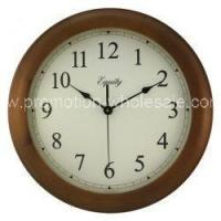 "Cheap 12"" Cherry Wall Clock for sale"