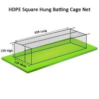 Cheap Sports Nets Baseball Batting Cage Nets 55ft x 12ft x 12ft for sale