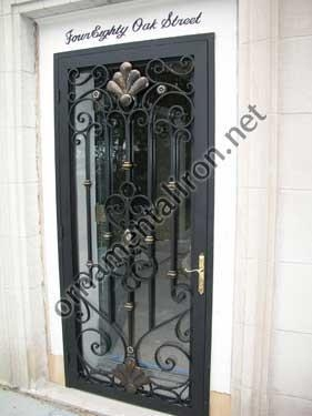 China Aluminum Main Entry Doors
