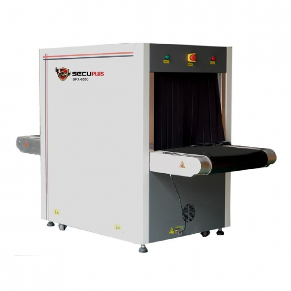 China SPX-6550 medium size X ray baggage scanner for hotels bank security check