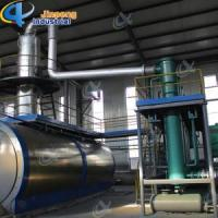 Cheap Tire Pyrolysis Oil to Diesel Distillation Plant for sale