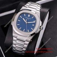 Knockoff Patek Philippe SA Nautilus Stainless Steel Blue Face 40mm Watch