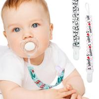 Cheap Pacifier Clip Leash/ Baby Soother Holders for sale