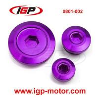 Buy cheap Yamaha YZ250F Aluminum Engine Cover Plug Chinese Supplier 0801-002 from wholesalers