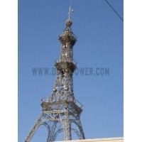 China Galvanized Steel Structure Decorative Tower on sale