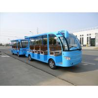 Cheap Electric Tourism Car 28 seats traction sightsee for sale
