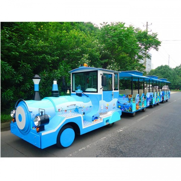 Quality Trackless Train Ocean theme trackless trai wholesale