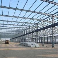 Cheap Galvanized or Painted Prefabricated H Section Steel Structure for sale