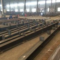 Cheap H beam section steel fabrication structural steel structure for sale