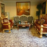Buy cheap Custom Floor Home Living Room Dining Hall European Style Axminster Carpet from wholesalers