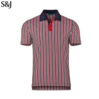 China Custom Man Striped Polo Shirts Mens Dry Fit Polo Shirts Sweat Shirt on sale