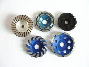 China Diamond Tools for Construction Concrete Cup Wheel