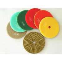 Buy cheap Diamond Grinding, Polishing Pads Diamond Polishing Pads from wholesalers