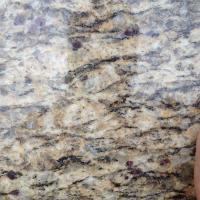 Cheap Polished Santa Cecilia Gold Granite Slabs For Kitchen Counter Top granite tiles for sale