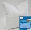 "Quality Exclusive 16"" x 16"", 28oz. 10/90 White Goose Down Pillow Insert (2"" Over-Sized, Firm Filled) wholesale"