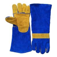 Buy cheap Cow Split Leather Welding Gloves with 8 Reinforcement from wholesalers
